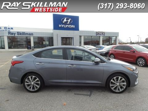 New 2019 Hyundai Accent 4DR SDN LIMITED AT