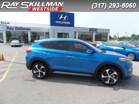 New 2018 Hyundai Tucson 4DR FWD LIMITED