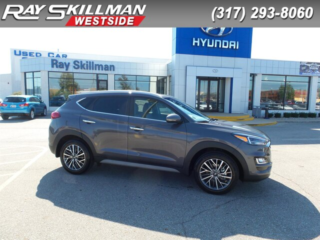 New 2020 Hyundai Tucson 4DR FWD LIMITED
