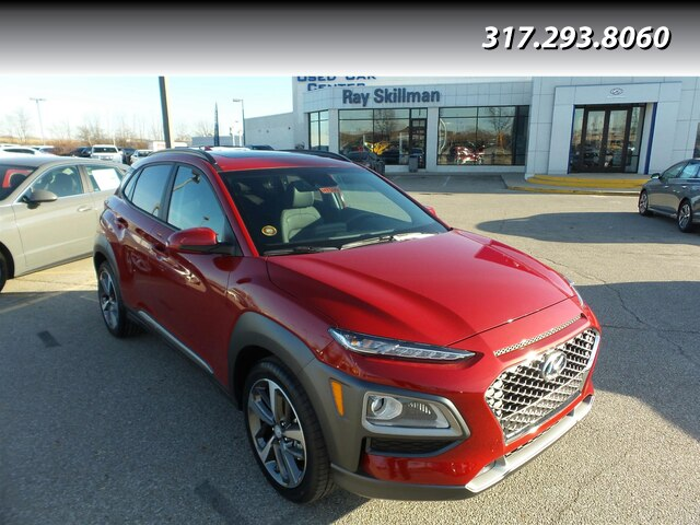 New 2020 Hyundai Kona 4DR LTD 1.6T DCT FWD