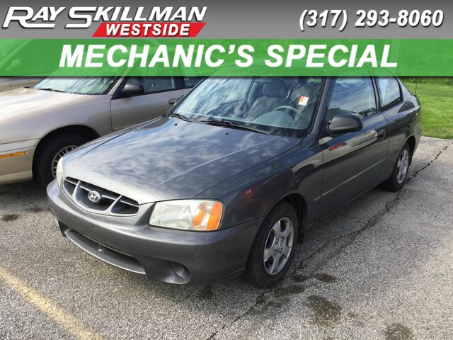 Pre-Owned 2000 Hyundai Accent GS
