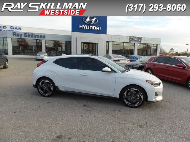 New 2019 Hyundai Veloster 3DR CPE TRBO DUAL CL