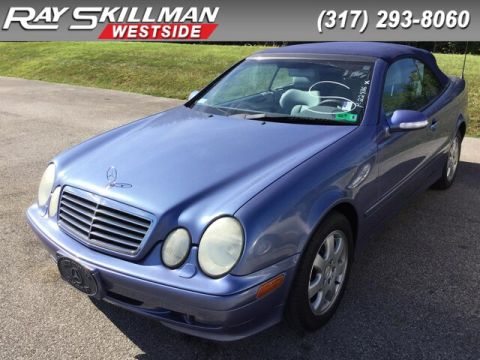 Pre-Owned 2000 Mercedes-Benz CLK320 2DR CABRIOLET